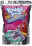 Kool-Aid Jammers Flavored Drink Pouches, Sharkleberry Fin, 60 Fluid Ounce (Pack of 4)