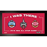 Steiner Sports Toronto Raptors 2016 NBA All-Star Game Framed 6 by 12 I Was There Sign