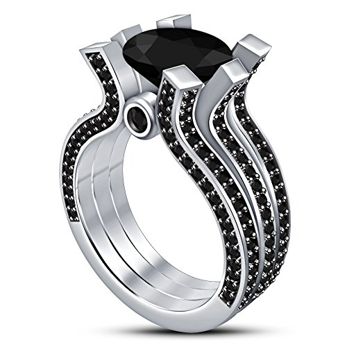 tvs-jewels-womens-wedding-anniversary-bridal-set-black-stone-ring-with-925-sterling-silver-white-pla