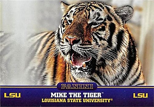 Mike The Tiger Mascot football card (LSU Tigers) 2015 Panini Team Collection #1 -