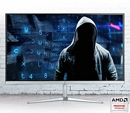 QNIX UNDERDOG QHD271 Real 144Hz, 1ms, Bezel-Less Slim Design 27