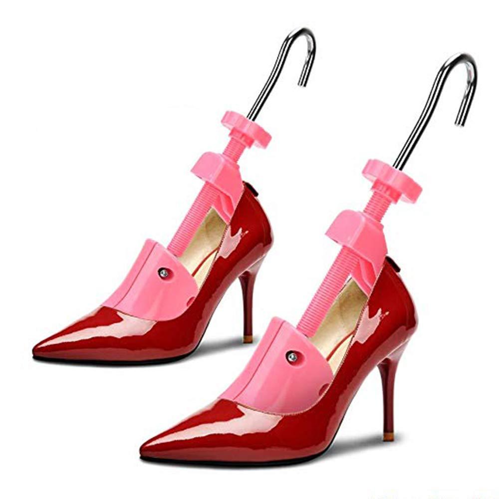 Pair of Professional 2-Way Premium Shoe Stretcher High Heel Shoe Stretcher Women Adjustable Length & Width Durable Shoe Shaper Size 4.5-9.5