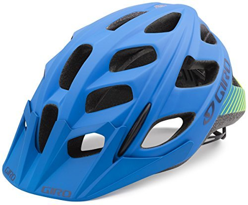 Giro Hex Helmet - Men's Matte Blue/Lime Small