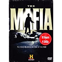 The History Channel : 12 Episode Mafia Collection : The Prohibition Years , Birth of the American Mafia , the Kennedys and the Mob , Unions and the Mob , Empire of Crime , Lucky Luciano: Chairman of the Mob , Meyer Lansky: Mob Tycoon , Genovese: Portrait of a Crime Family , Bugsy Siegel , Al Capone and the Machine Gun Massacre , America and the Mob: Wartime Friends ,The Gambinos: First Family of Crime : 4 DVD SET : OVER 10 HOURS