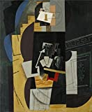 The Perfect Effect Canvas Of Oil Painting 'Pablo Picasso-Card Player,1913' ,size: 18x22 Inch / 46x56 Cm ,this Replica Art DecorativePrints On Canvas Is Fit For Home Theater Decoration And Home Gallery Art And Gifts