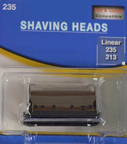 Cabezal de afeitado cuchilla de cizalla 211 213 235 265/266 micron lineal 245-278, universal, sixtant 003: Amazon.es: Salud y cuidado personal