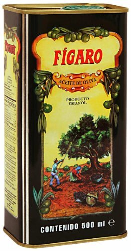 Figaro 1 Aceite De Oliva Tin, 500Ml
