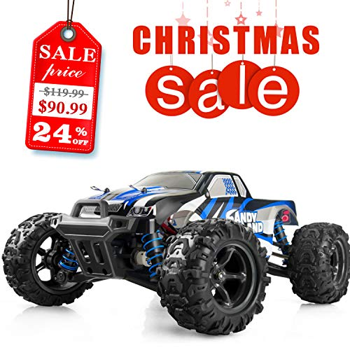 Imden IMDEN Remote Control Car, Terrain RC Cars, Electric Remote Control Off Road Monster Truck, 1: 18 Scale 2.4Ghz Radio 4WD Fast 30+ mph RC Car, with 2 Rechargeable Batteries price tips cheap