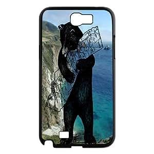 LSQDIY(R) bear Samsung Galaxy Note 2 N7100 Personalized Case, Customised Samsung Galaxy Note 2 N7100 Case bear