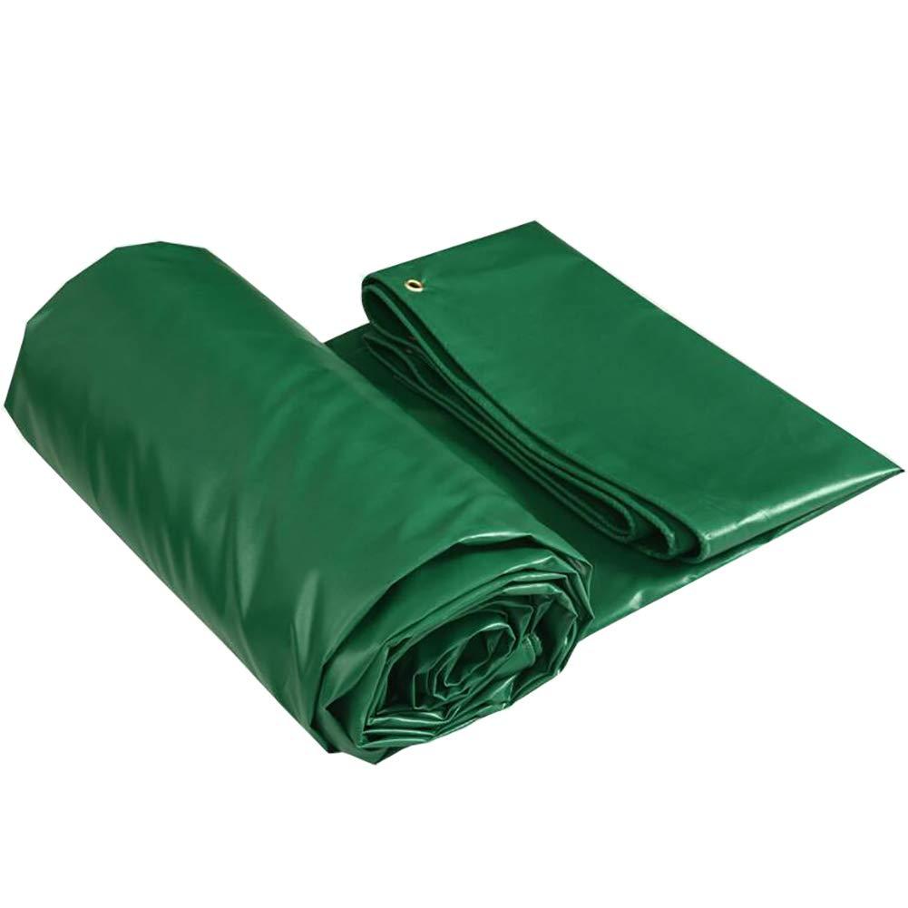 JNYZQ Wasserdichte Plane Plane Dicke Zelte Poly Tarp Army Grün - Schützen Sie Ihr Zelt, Dach (größe   4M×4M)