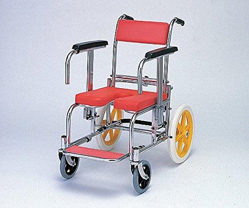 カワムラサイクル0-6663-01入浴椅子レッド   B07BD2T2XF