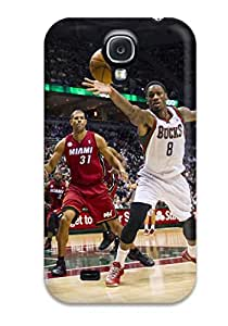 8272763K684857154 milwaukee bucks nba basketball (31) NBA Sports & Colleges colorful Samsung Galaxy S4 cases