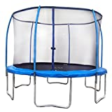YONGCUN Trampoline with Enclosure Size 14Feet Outdoor Trampoline
