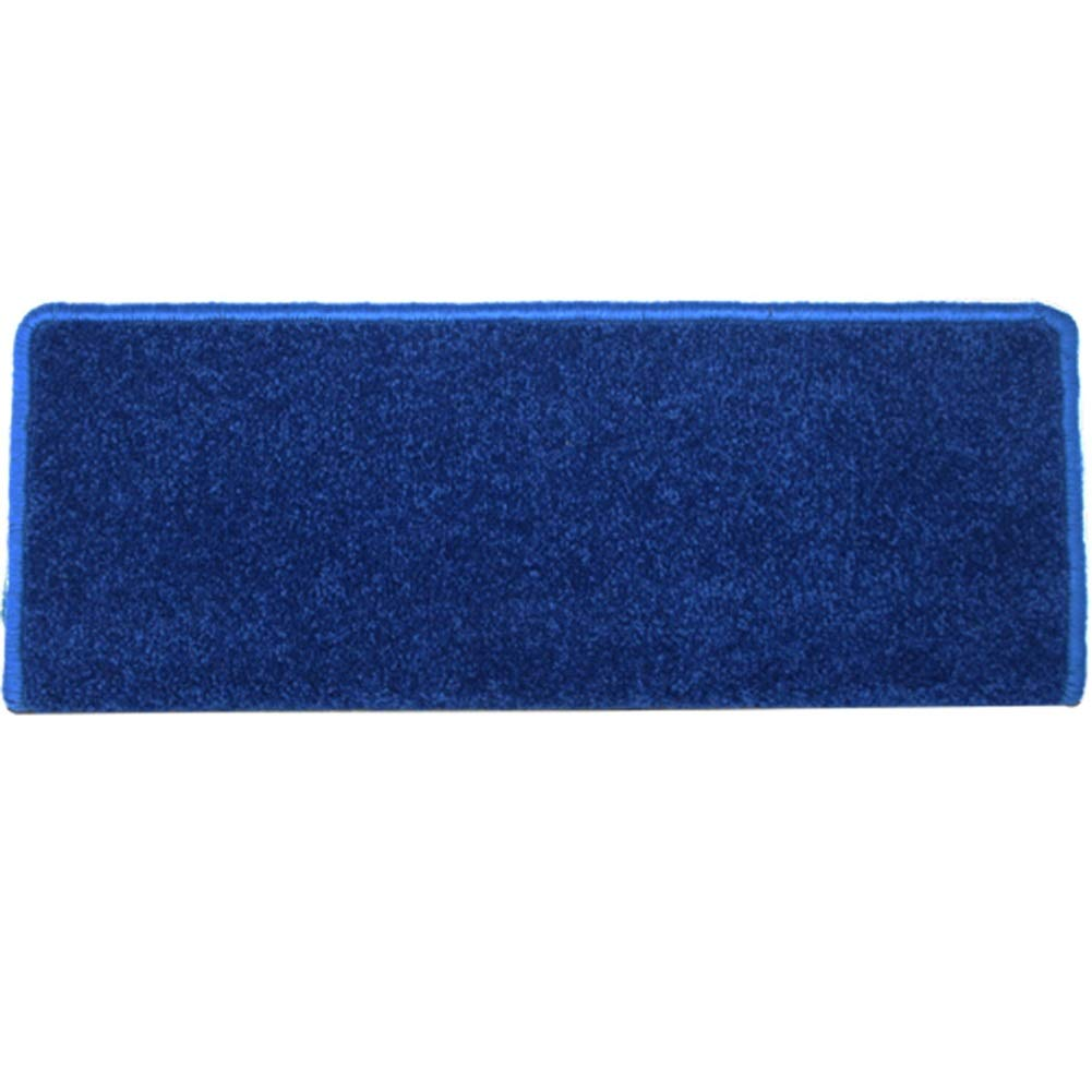 HAIPENG Anti Slip Stair Carpet Treads Pads Self Adhesive Rubber Runner Rugs Home Customize Blue, 75x24x3cm, 2 Types (Color : Rectangle, Size : 1 pcs)