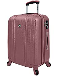 Mia Toro Perla Hardside 24 Inch Spinner, Pink, One Size