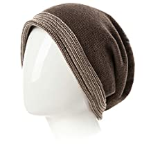Siggi Reversible Slouchy Beanie Chemo Sleep Cap Cancer Patient Hats for Men