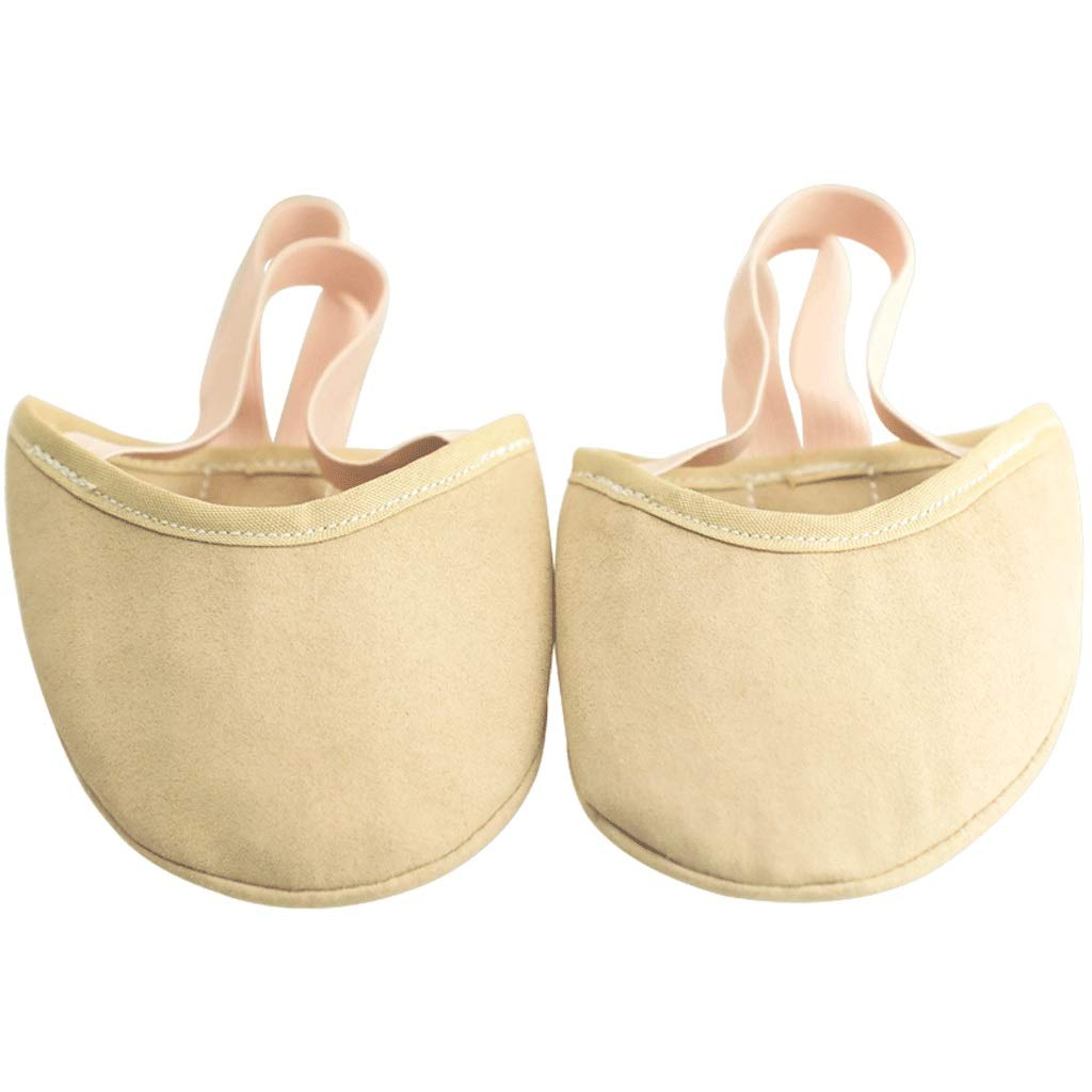 Erwachsene Rhythmische Gymnastik Schuhe Weibliche Halbe Palm Schuhe Kinder halbe Fu/ß Trainingsschuhe M/änner Zehe Vorderfu/ß Half Cut Schuhe Farbe : Ingwer gelb, gr/ö/ße : 24