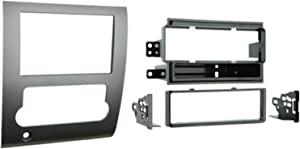 Metra 99-7424 Single DIN/Double DIN Installation Kit for 2008-up Nissan Titan (Silver)