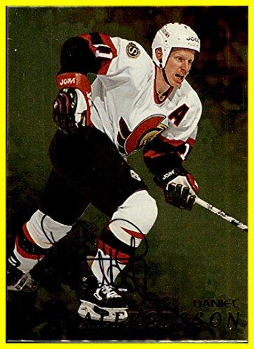 1998-99 BAP Be A Player AUTOGRAPH GOLD #98 Daniel Alfredsson OTTAWA SENATORS - Daniel Alfredsson Player