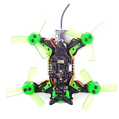 Happymodel Mantis85 85mm FPV Racing Drone Pure Carbon Quadcopter Frame Kit Supers_F4 6A BLHELI_S 5.8G 25MW 48CH 600TVL Camera + DSM/2 Receiver