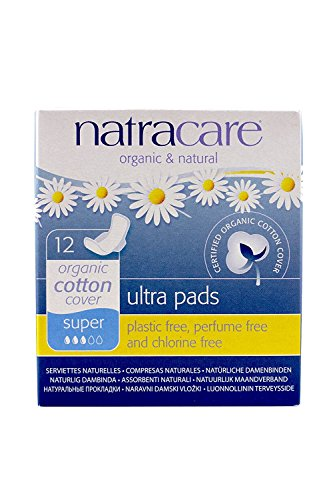 Natracare: Natural Ultra Super Pads With Wings (6 X 12 Ct)