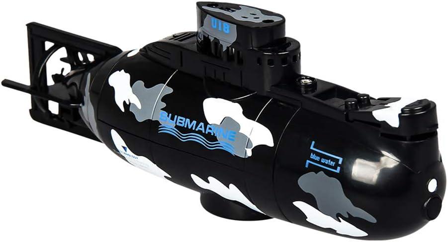 Gjyia 3311M Mini RC U-Boot RC Spielzeug Fernsteuerung Simulation Tauchen Geburtstag Geschenk f/ür Kinder Jungen gr/ün