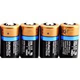 Duracell DL-CR2 Lithium 4 Batteries 3V
