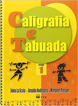 Caligrafia e Tabuada. 1º Ano - 9788532272577 - Livros na