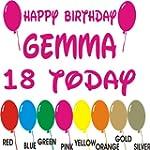 Personalised Happy Birthday Sticker A...
