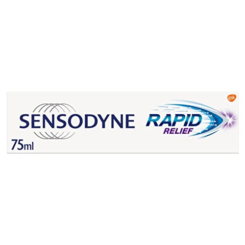 Sensodyne Rapid Relief Toothpaste, 75 ml