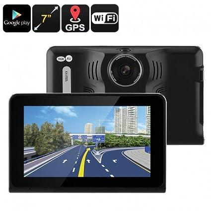 Coche DVR Dash Cam - Detector de antiradar, GPS navegación, sistema operativo Android,