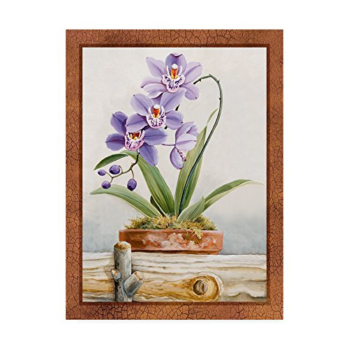 Orchids 2 by Lisa Audit, 14x19-Inch