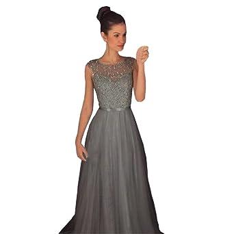 Xinxinyu - Vestido de mujer veraniego de estilo formal para bodas, dama de honor,