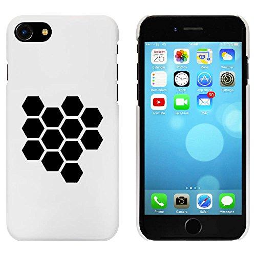 Blanc 'Motif en Nid d'Abeille' étui / housse pour iPhone 7 (MC00077588)
