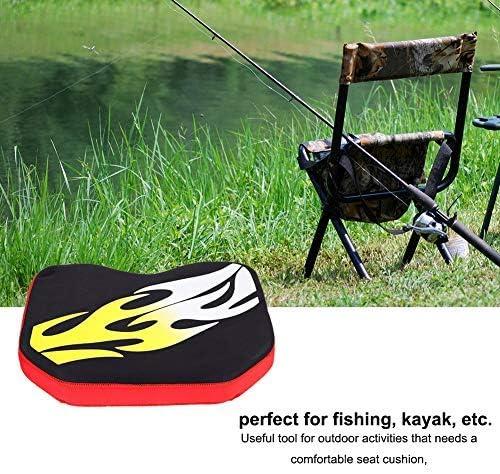 Qiilu Kayak Seat Cushion Thicken Soft Kayak Canoe Fishing Boat Sit Seat Boating Seat Cushions