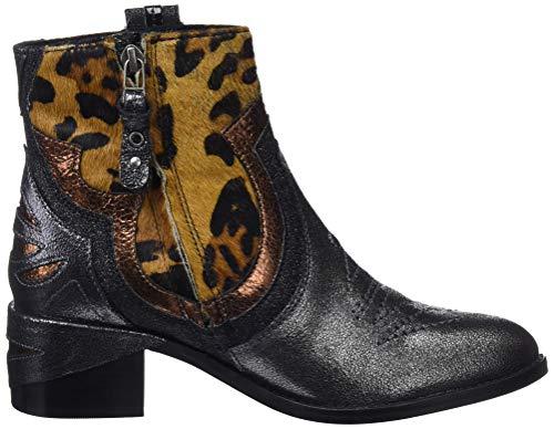 Multicolor p Gioseppo 46166 Botines Leopardo Leopardo para Mujer aBOqSa