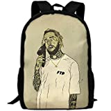 WANGZII FTP $uicideboy$ Backpack For Women Men,School Hip Hop College Backpack Lightweight Packable Travel Hiking Fashion Backpack