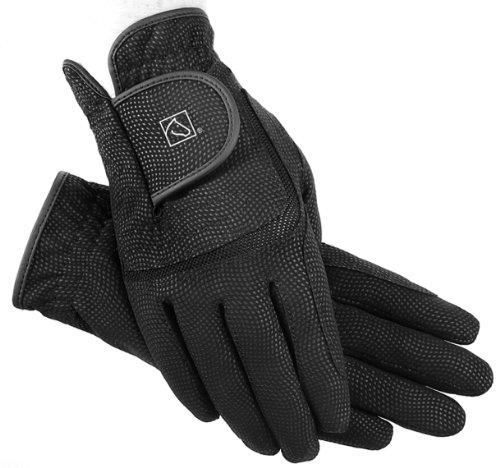 Digital Riding Gloves (SSG Digital Riding Gloves - Black - 7)