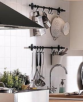 Amazon.com: IKEA Acero Ganchos 402.019.02, 2.75 inch, pack ...