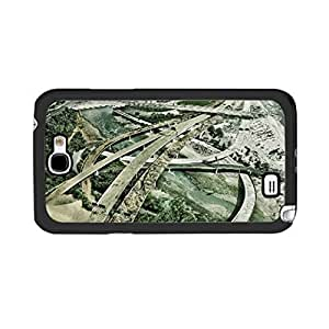 Hu Xiao Hybrid Surreal Nature Tree Scenery Samsung Galaxy S5 I9600/G9006/G9008 Cool City Bridge Street Design gcsbVfVtuQg Back case cover