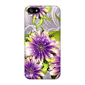 Hot Covers Cases For Iphone/ 5/5s Cases Covers Skin - I Love Purple