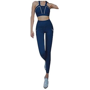 Samgu Conjunto De Yoga De Pantalones Sin Mangas para Mujer ...
