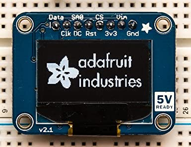 Amazon com: Adafruit (PID 326) Monochrome 0 96
