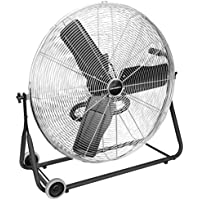 Solidwell 24890 30 Inch Light Commercial Floor Fan