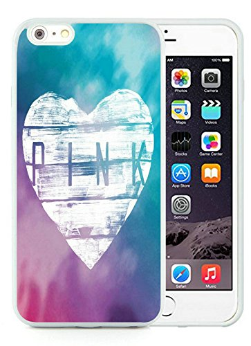 Iphone 6 Plus Cases Custom Design Victoria's Secret Love Pink 03 Cell Phone Tpu Cover Case for Iphone 6 Plus 5.5 Inch White