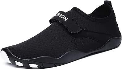 Mens Womens Water Shoes Mesh Barefoot Quick-Dry Outdoor Pool Aqua Socks for Beach Swim Diving Surf Sport