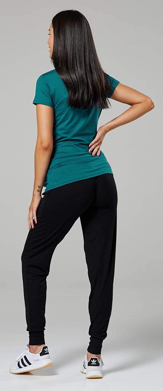 Camiseta Divertido para Embarazadas de Beb/é pies Zeta Ville para Mujer 199c