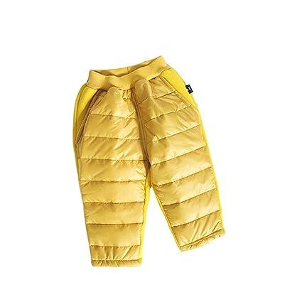 dbfcc4a48a5e2 ALLAIBB 子供服 ダウン 長ズボン パンツ ロング丈 冬 厚い 軽量 保温 雪遊び 登山