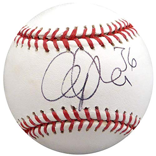 Cliff Lee Autographed Official MLB Baseball Philadelphia Phillies, Cleveland Indians Beckett BAS #H10601