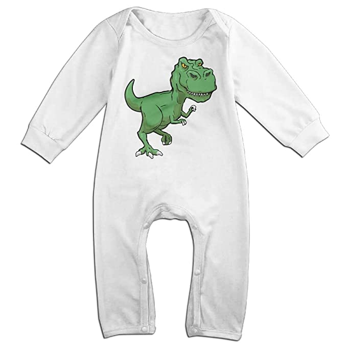 Amazon Com Newborn Kids Bodysuits Green Tyrannosaurus Rex T Rex